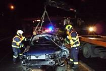 Tragická nehoda u Turnova.