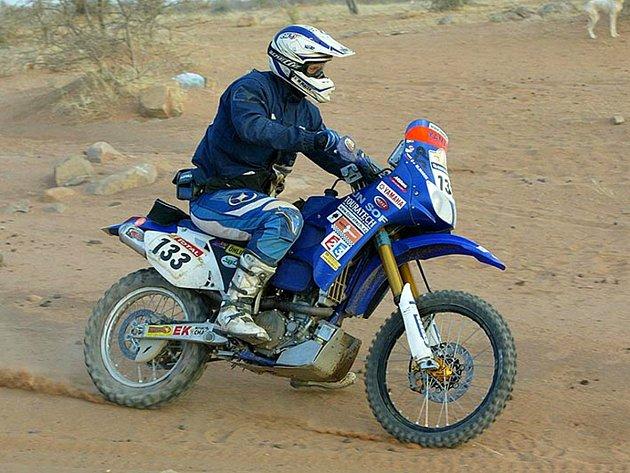 Martin Macek při přípravě na Rallye Dakar