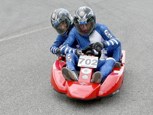 26. Mistrovství Evropy ve sjezdu minikár se jelo v sobotu v Bozkově.