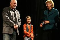 V JABLONECKÉM EUROCENTRU V SOBOTU VEČER udíleli hudebním pedagogům ceny Klíč k hudbě.