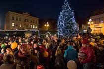 Rozsvícení vánočního stromu v Železném Brodě