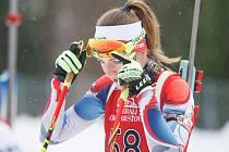 Bývalá biatlonistka Jitka Landová.