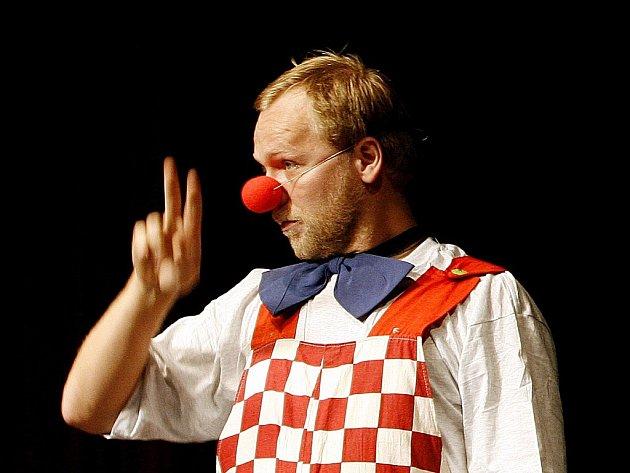 Cirkusový klaun. Ilustrační foto