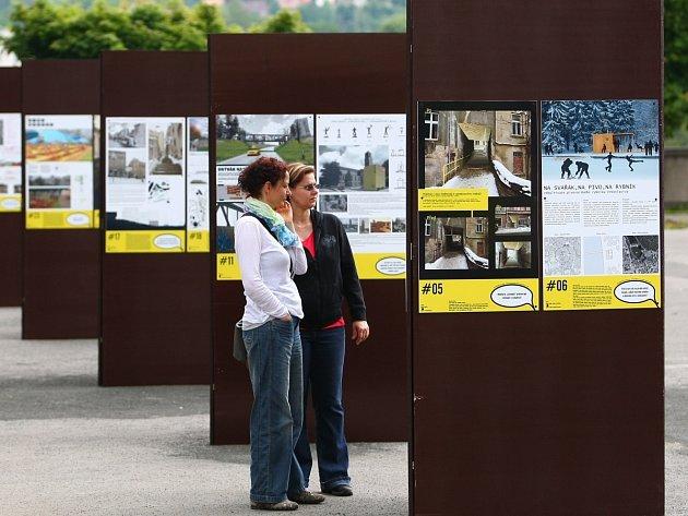 Vystavené návrhy na změnu městských částí v Jablonci nad Nisou jsou k vidění na Horním náměstí.