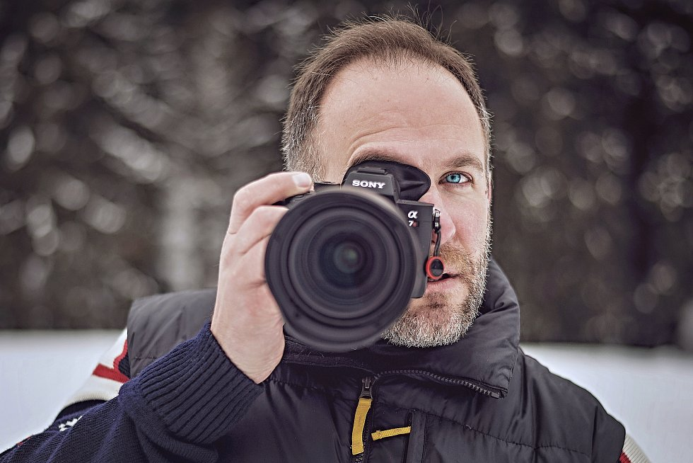 Hobojista Vilém Veverka je také vášnivým fotografem.