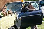 SDH Držkov. Dobrovolní hasiči pořádají vyhlášenou auto-moto burzu.