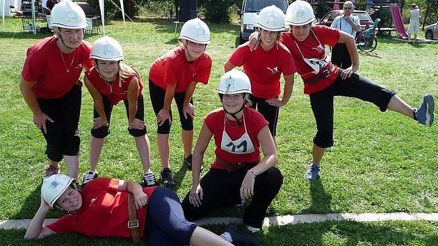 Dětská hasičská soutěž. Ilustrační snímek.