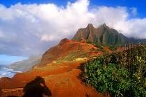 Kauai - čtvrtý největší ostrov Havaje.
