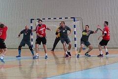 Jablonečtí házenkáři v dalším zápase II. ligy porazili Ústí a chystají se na plzeňkou Košutku.