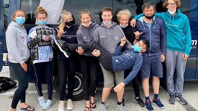 Mladí závodníci se zúčastnili silně obsazeného mistrovství Španělska.