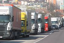 Kamiony. Ilustrační snímek