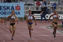 VE STÍNU světového šampionátu bojovali na jablonecké Střelnici mladí atleti o domácí tituly mistrů České republiky do 22 let.