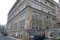 Bývalá tiskárna v Liberci - jeden z mnoha brownfieldů Libereckého kraje