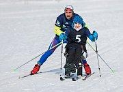 Třetí ročník zimní části série ČEZ handy kvadriatlonu smíšených dvojic proběhl 3. března v Bedřichově na Jablonecku.