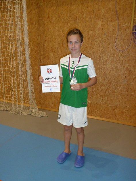 Dvanáctiletí fotbalisté FK Jablonec získali na halovém mistrovství České republiky bronzové medaile.