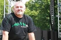 Pavel Mikez bezprostředně před zahájením Benátské noci 2010.