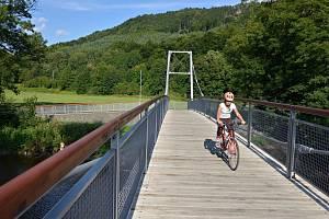 Cyklostezka Greenway Jizera. Ilustrační foto