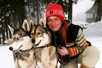 Jana Henychová se vrátila z extrémního závodu v norské Altě, ve kterém ujela 1060 kilometrů.