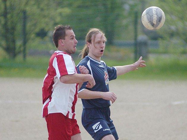 Utkání III. třídy jabloneckého okresu mezi týmy Kokonína a Hodkovic. Hosté vyhráli 1:0.