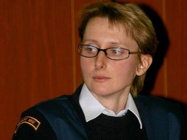 Marcela Švandová, psycholog hasičů