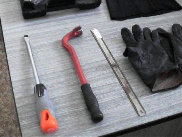 """""""Nádobíčko"""". Ale pozor, zloději využívají i dalece sofistikovanější nástroje"""