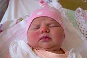 MICHAELA ANNA SKŘEBSKÁ se narodila v úterý 28. listopadu v jablonecké porodnici mamince Lucii Lukáčové z Jablonce nad Nisou. Měřila 51 cm a vážila 3,950 kg.