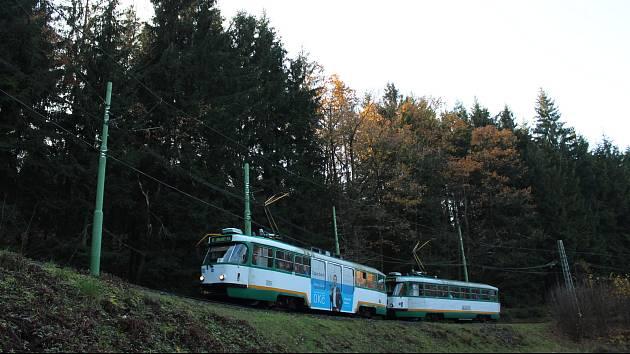 Linka číslo 11 na trase Liberec - Jablonec. Ilustrační foto