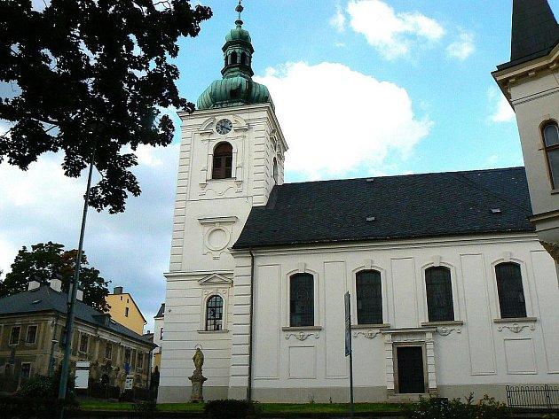 Jablonec nad Nisou. Kostel sv. Anny.