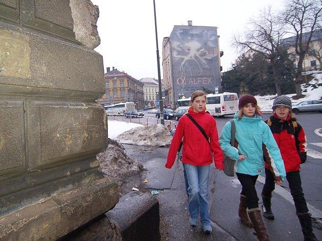 Jeden z domu, na který město poskytlo zvýhodněnou půjčku je dům v Podhorské ulici v Jablonci nad Nisou.