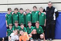 Žáci FK Jablonec kategorie U11 skončili na turnaji pátí.