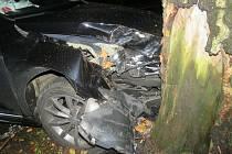 Dopravní nehoda na Jablonecku.