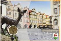 3 Jelenie. Lokální dukát Jelenie Góry a ukázka jeho dalšího využití.