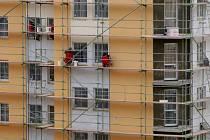 Nových bytů vzniká v Libereckém kraji stále méně