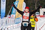 Závod v klasickém lyžování, Hervis Jizerská 25, proběhl 17. února v Bedřichově na Jablonecku v rámci série závodů Jizerské padesátky. Hlavní závod na 50 kilometrů zařazený do seriálu dálkových běhů Ski Classics se pojede 18. února 2018. Na snímku je posle