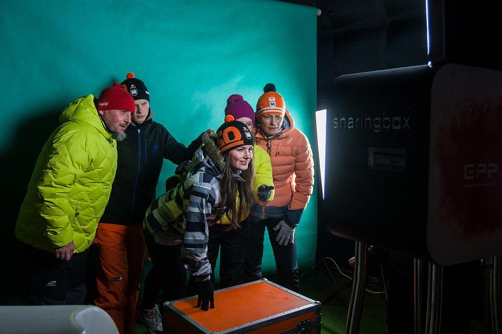 Závod v klasickém lyžování, Volkswagen Bedřichovská 30, odstartoval 16. února v Bedřichově na Jablonecku Jizerskou padesátku. Hlavní závod zařazený do seriálu dálkových běhů Ski Classics se pojede 18. února 2018. Na snímku je doprovodný program.