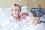 VIKTOR HONZÍK se narodil v pondělí 26. března v jablonecké porodnici mamince Ireně Honzíkové z Liberce. Měřil 52 cm a vážil 3,50 kg.