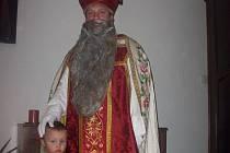 Sv. Mikuláš, nositel darů