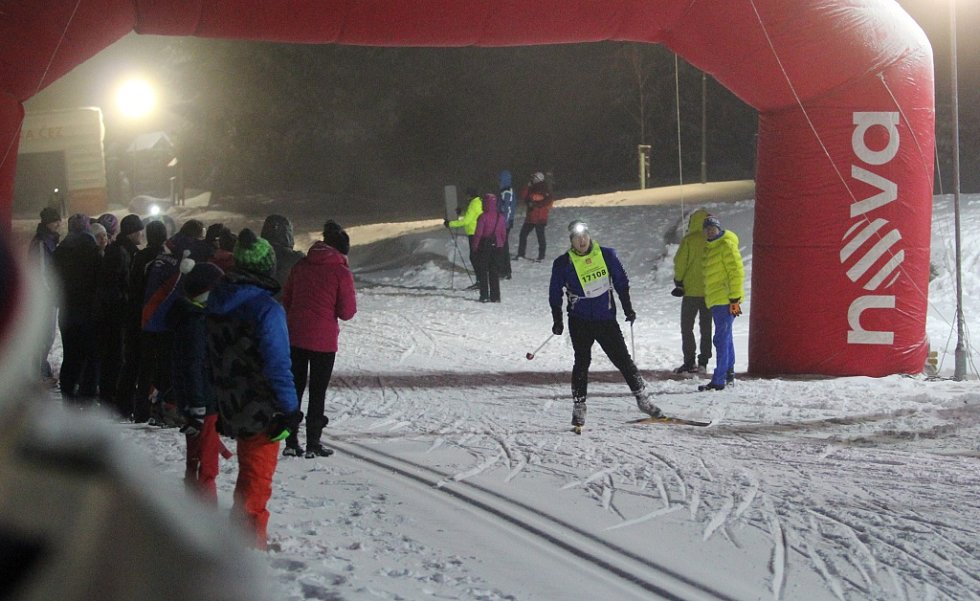 Noční maraton v Bedřichově