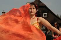 Břišní tanečnice z klubu Tasmina