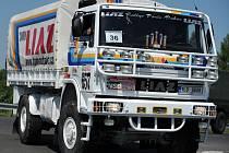 LIAZ v úpravě pro Rallye Paříž Dakar