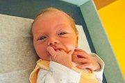 JAN PLEŠTIL se narodil v pondělí 11. září mamince Karolíně Pleštilové z Turnova. Měřil 46 cm a vážil 2,98 kg.