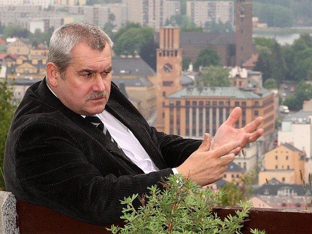 Majitel hotelu Petřín Evžen Hejsek