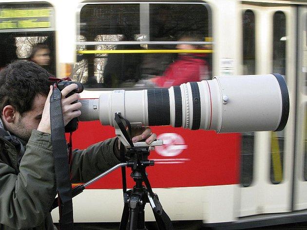 Fotograf. Ilustrační snímek.