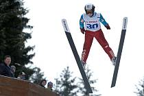 Skokanský areál na Malé straně v Desné hostil republikové kontrolní závody ve skoku na lyžích a severské kombinaci.
