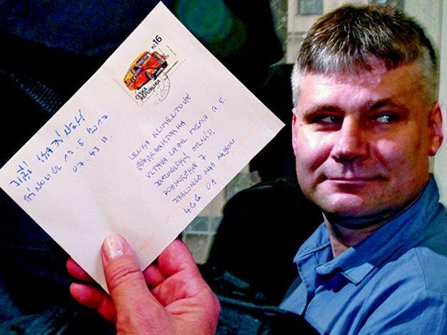 Jiří Kajínek poslal Deníku dopis.