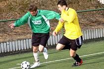 Fotbalisté Lučan v prvním jarním utkání I. A třídy podlehli Bozkovu 1:2.