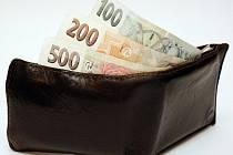 Krádež peněženky. Ilustrační snímek.
