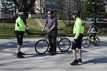 Cyklohlídky městské policie vyrazily do terénu.