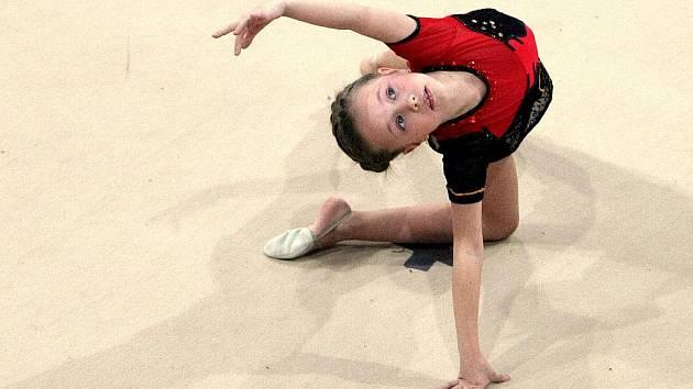 V městské sportovní hale se konaly závody v moderní gymnastice Jablonecký korálek.