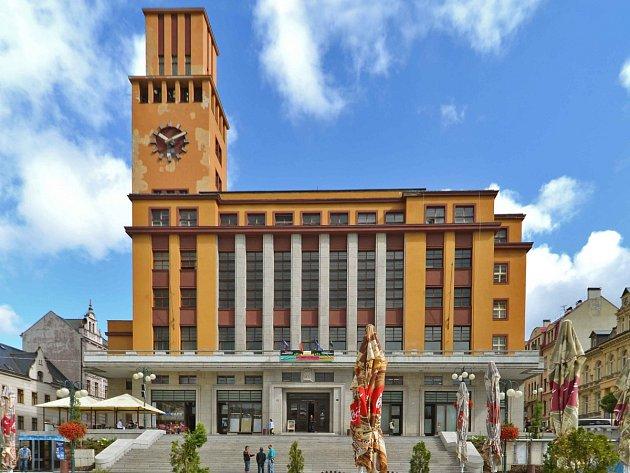 Jablonecká radnice s věží